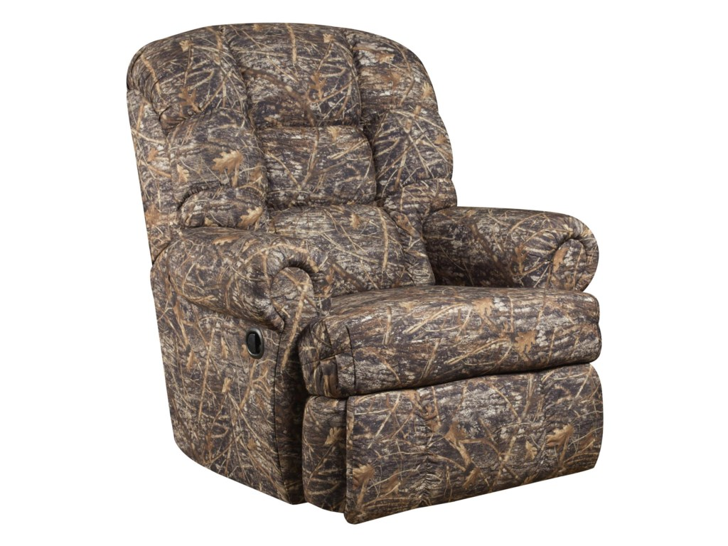 American Furniture ReclinersPower Recliner with Heat and Massage