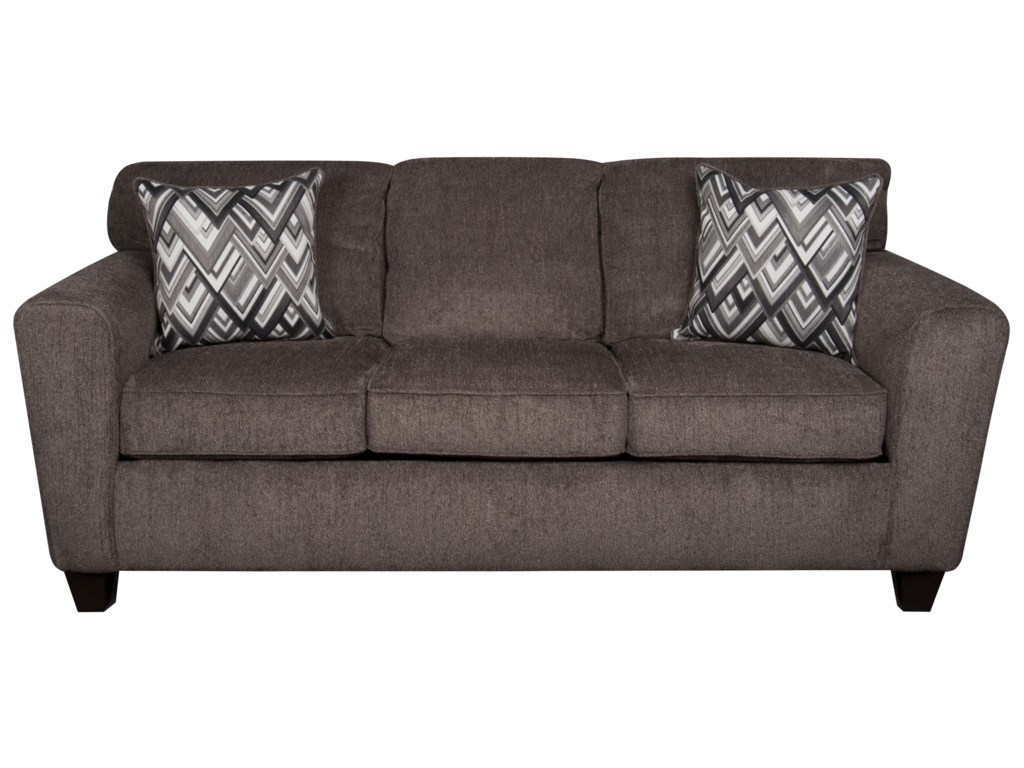 Morris Home Furnishings Wilsonwilson Sofa With Accent Pillows