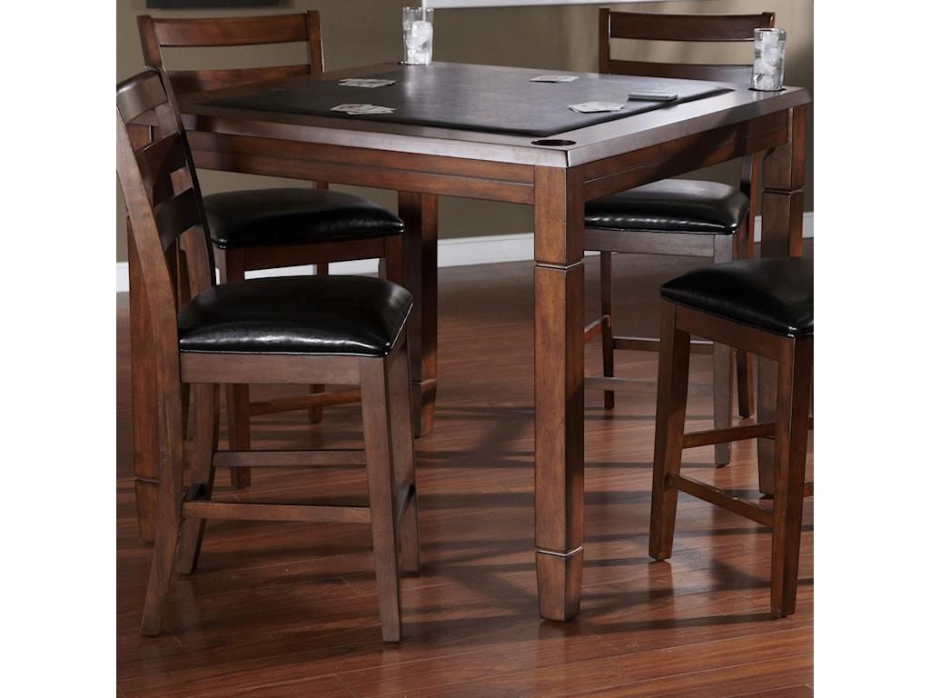American Heritage Billiards Artero Rosa In Pub Table With Flip - American heritage artero pool table