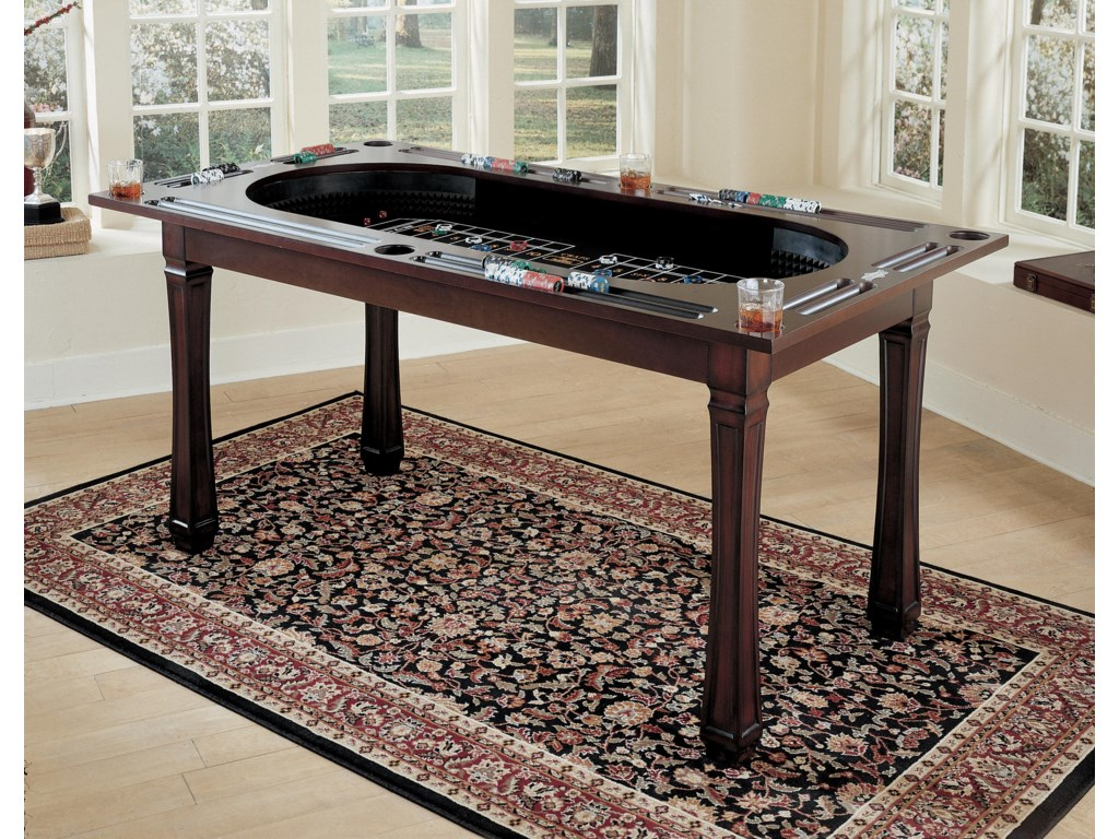 Concealed Craps Table Shown