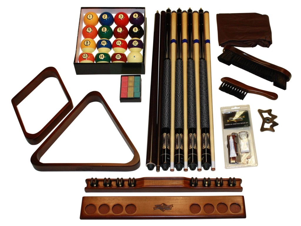 American Heritage Billiards CrescentAccessory Kit
