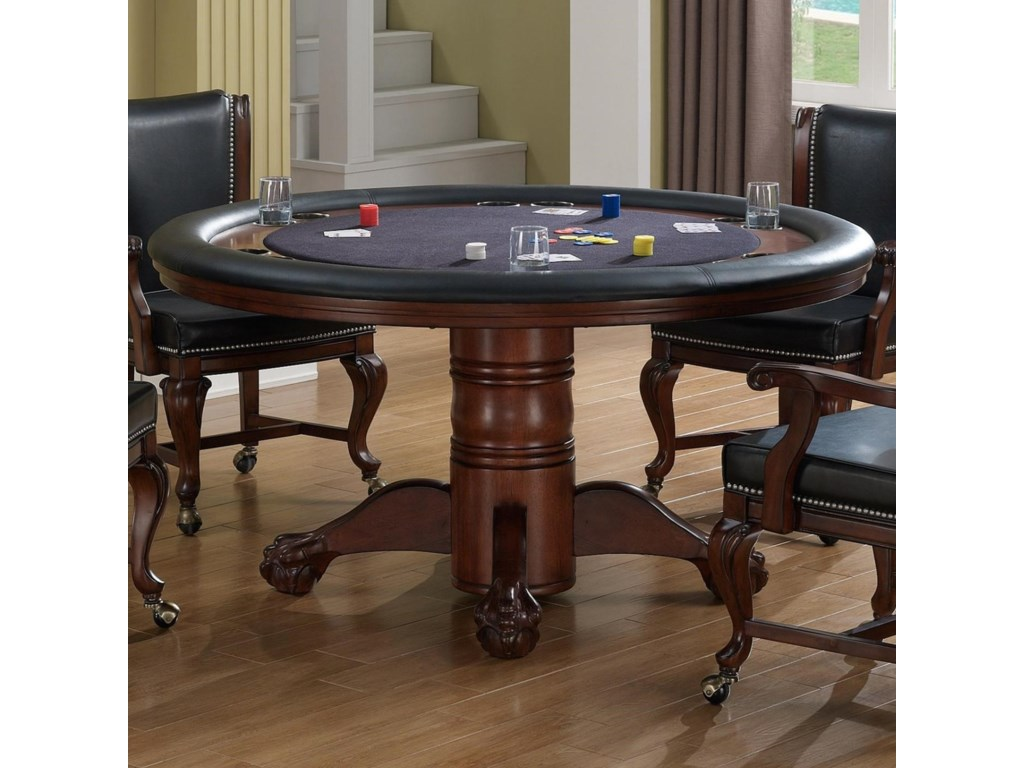 American Heritage Billiards Full House Full House Poker Table - American heritage billiards pool table