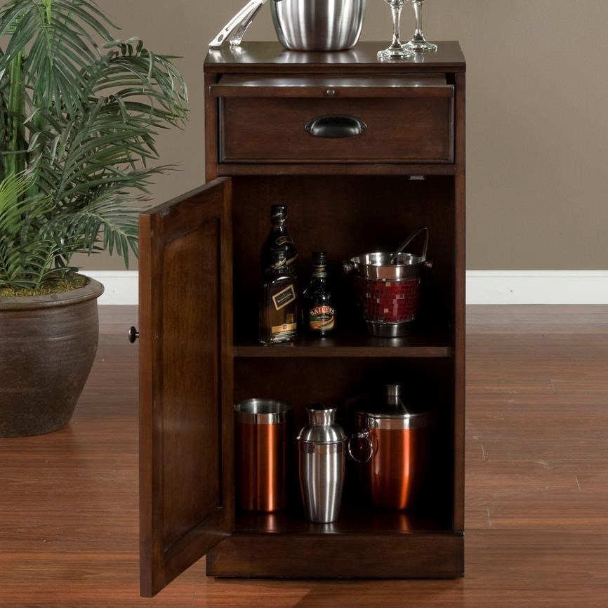 ... American Heritage Billiards Natalia4 Piece Modular Bar With 2 Wine  Units ...