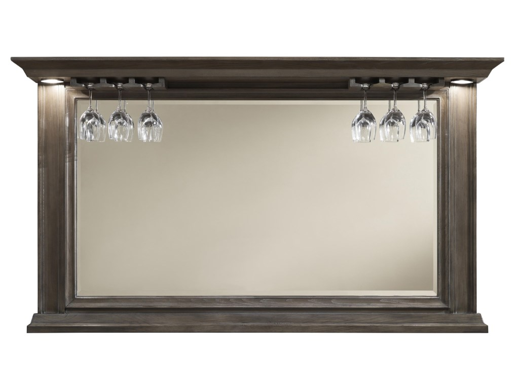 American Heritage Billiards Quest GLA Riviera Mirror With - American heritage quest pool table