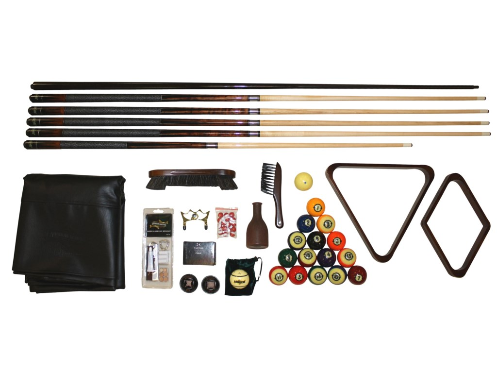 American Heritage Billiards SausalitoAccessory Kit