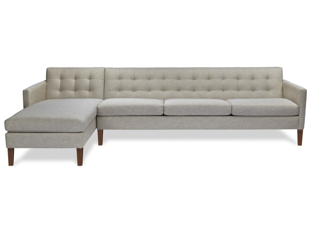 American Leather AinsleySofa with Chaise