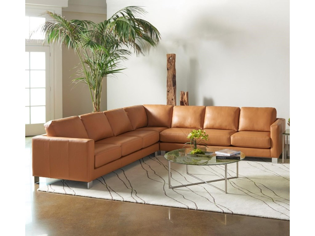 American Leather AlessandroSectional