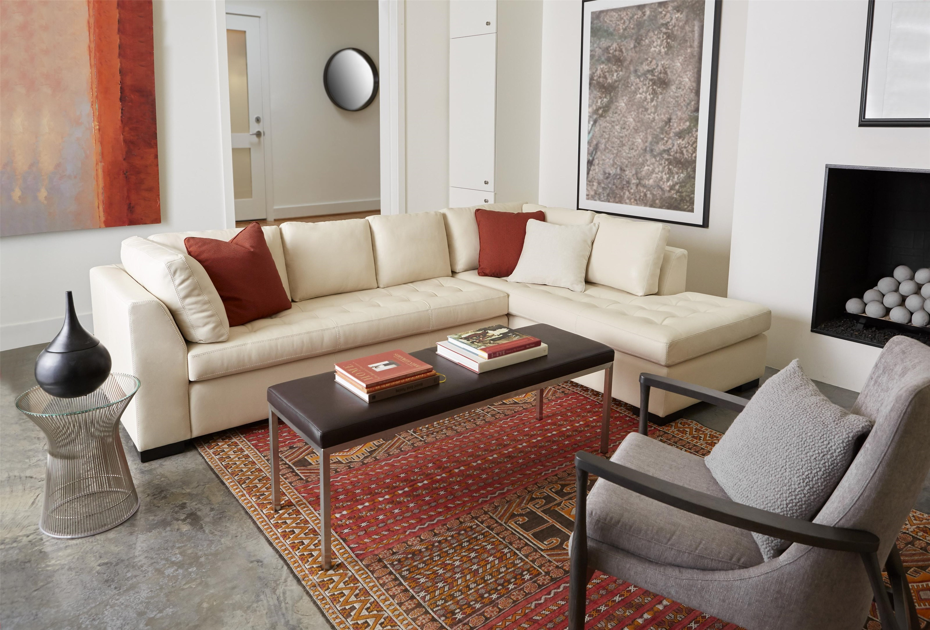American Leather AstoriaSectional Sofa ...
