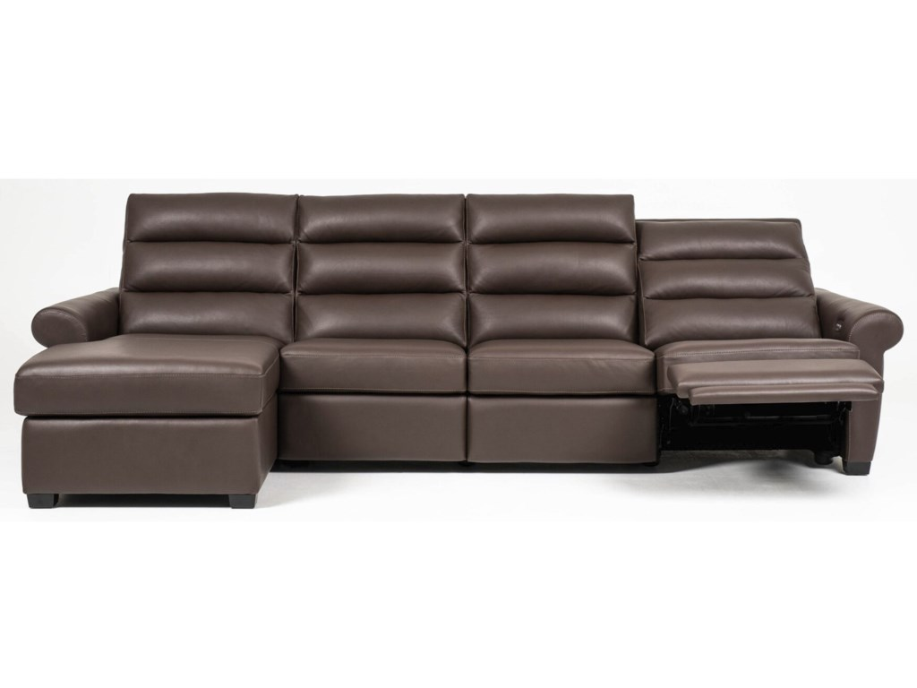 American Leather AustinPower Sofa with Chaise