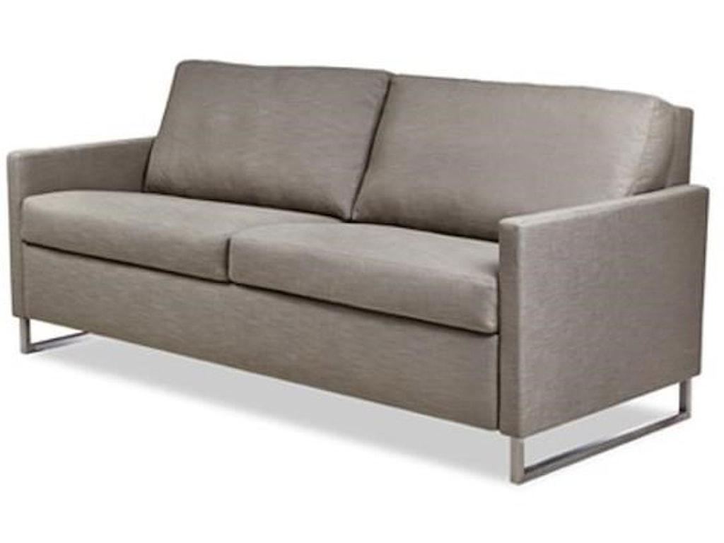 American Leather BreckinQueen Sleeper Sofa