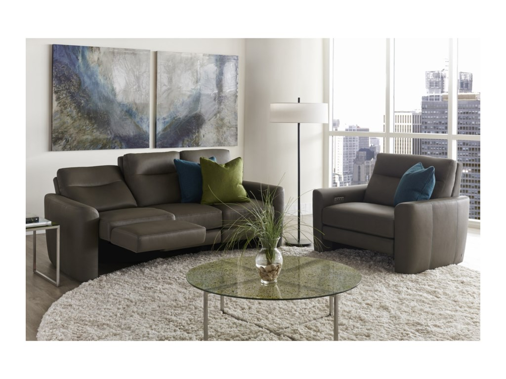 American Leather Chelsea - Style in MotionReclining Living Room Group