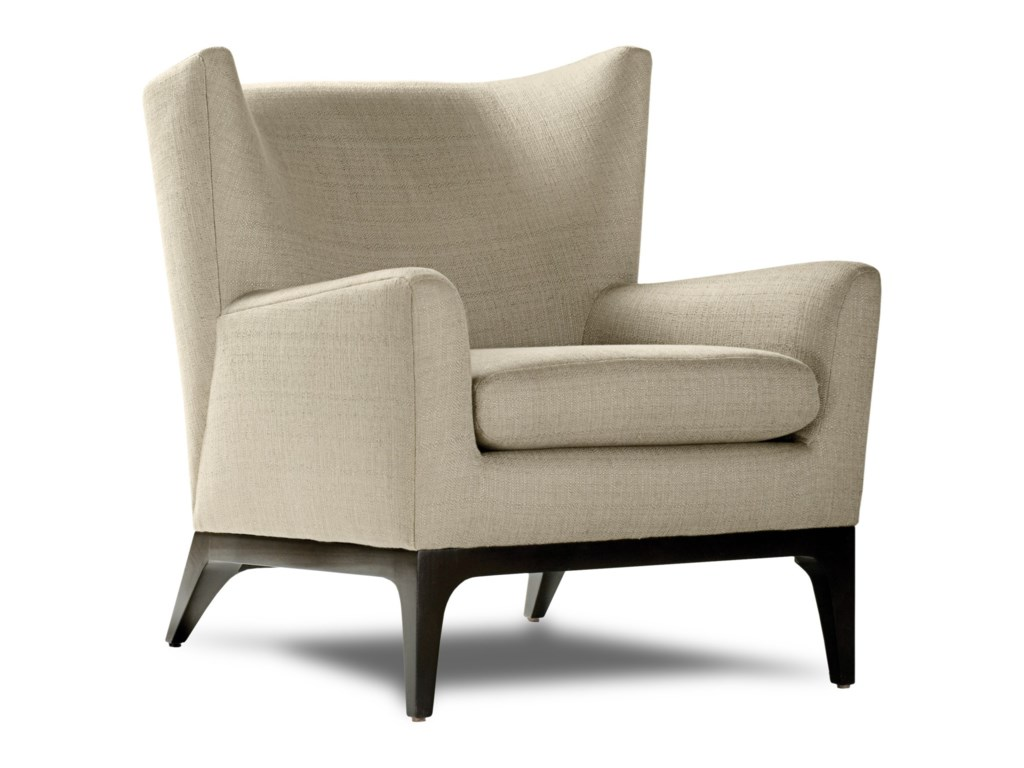 American Leather ColeWing Chair
