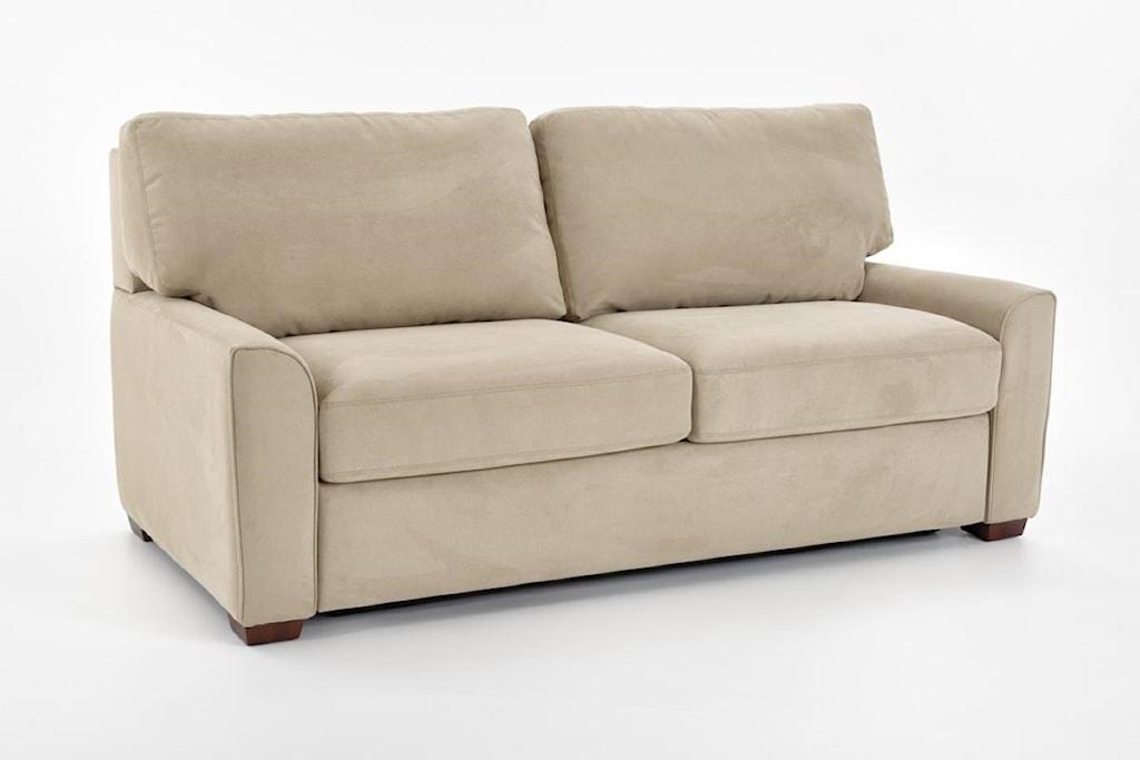 American Leather Comfort Sleeper Kalyn Kal S02 Qs Vee Life Queen  ~ Leather Sleeper Sofa Queen