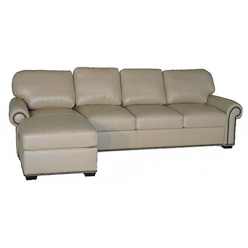 American Leather Comfort Sleeper - Makayla Traditional 2 Piece ...