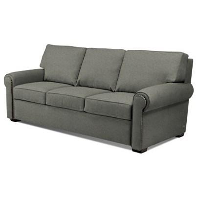 comfort sleeper reese reeso3qp roll arm queen plus sofa sleeper w nailhead trim by american leather - American Leather Comfort Sleeper