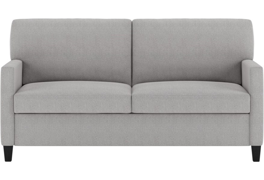 American Leather Conley Contemporary Queen Size Comfort ...