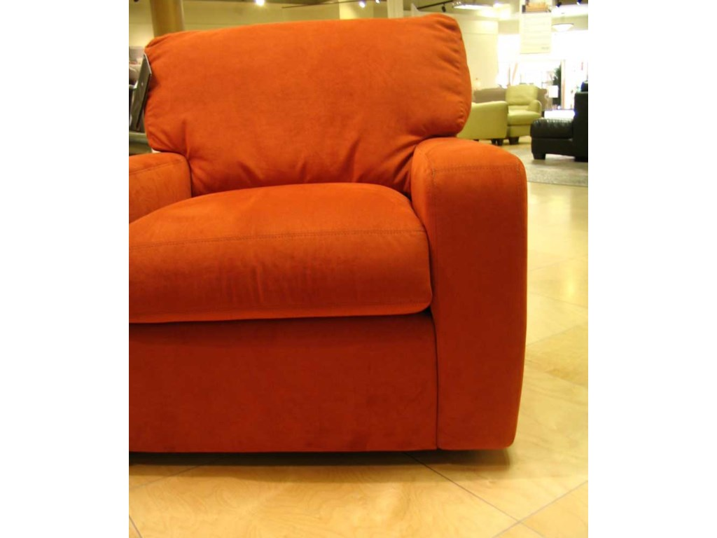 American Leather CarsonUltrasuede Chair