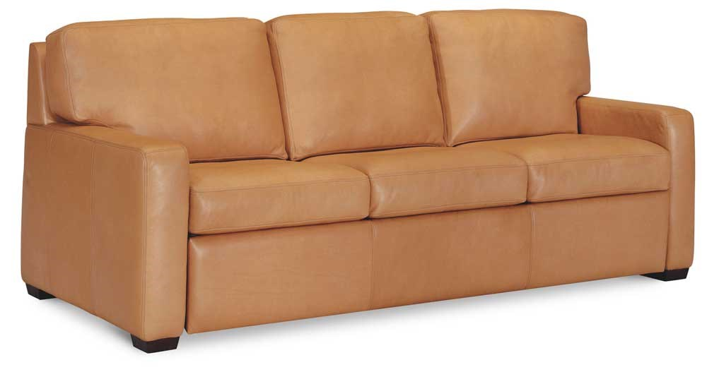 American Leather Carson Leather Sofa Sleeper