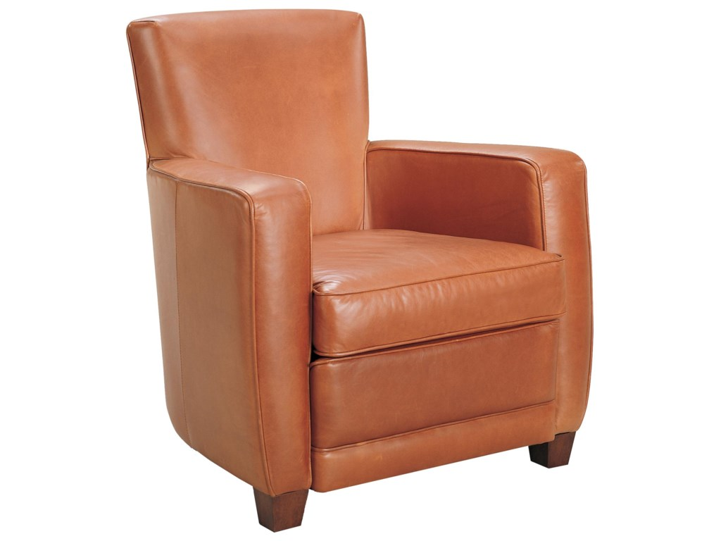 American Leather Ethan Contemporary Chair