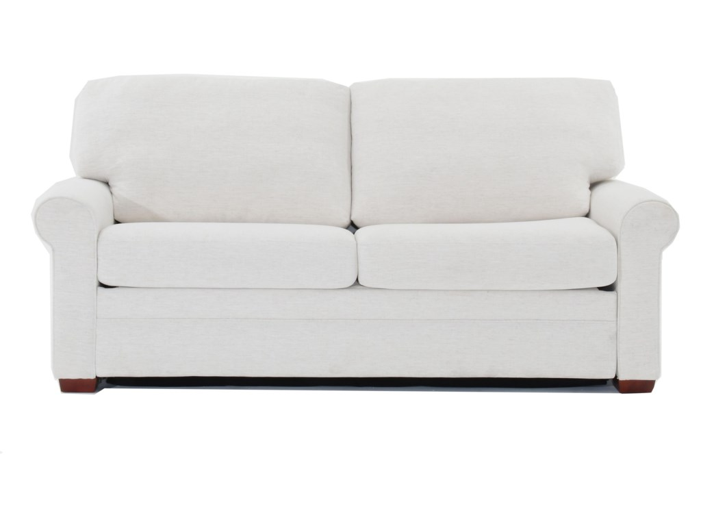 Gaines Two Seat Queen Size Sofa Sleeper by American Leather at Baer\'s  Furniture