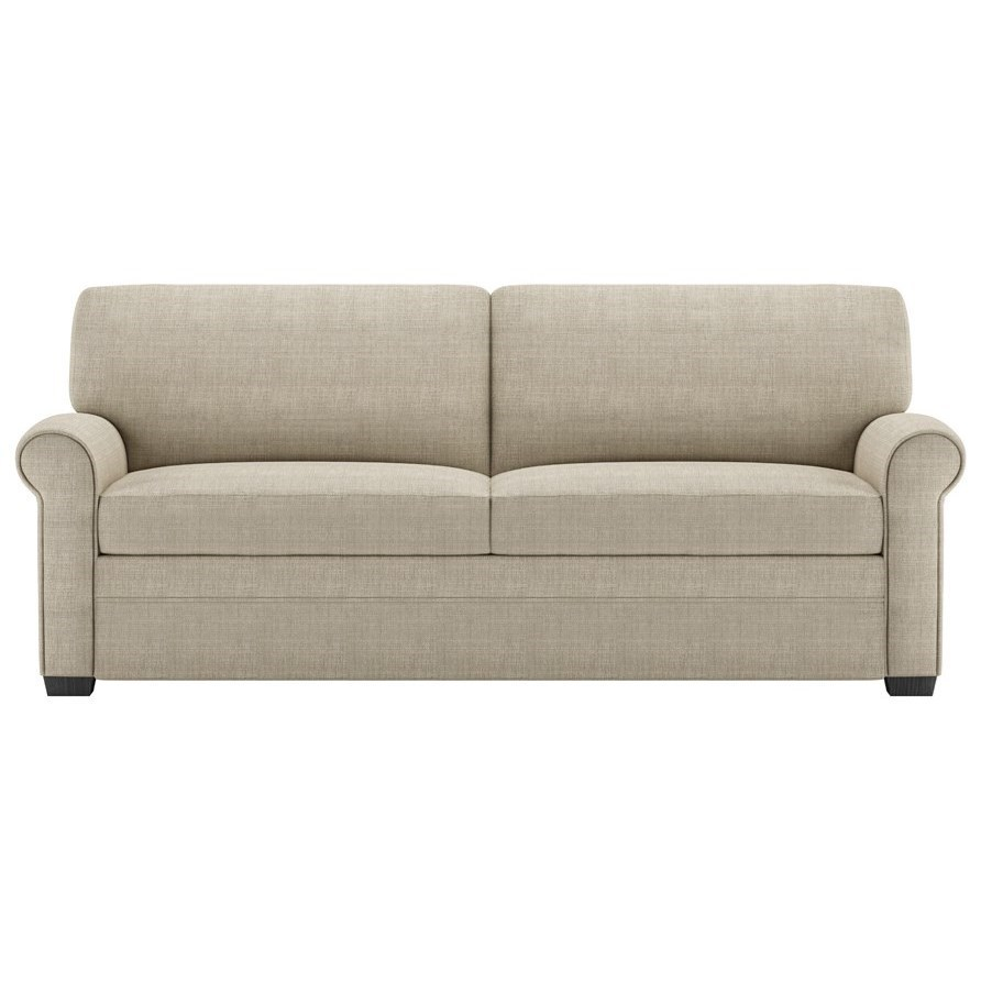 American Leather Gaines Two Seat Queen Size Sofa Sleeper