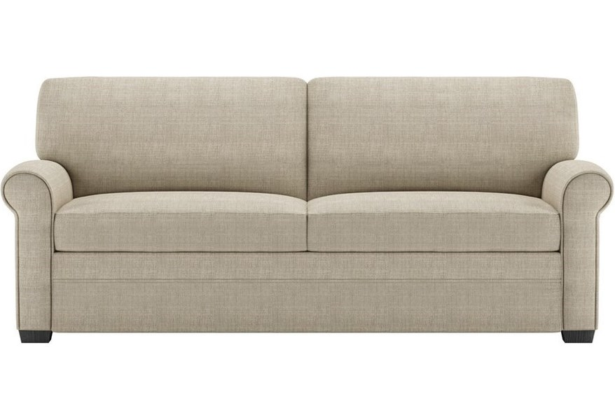 American Leather Gaines Two Seat Queen Size Sofa Sleeper ...