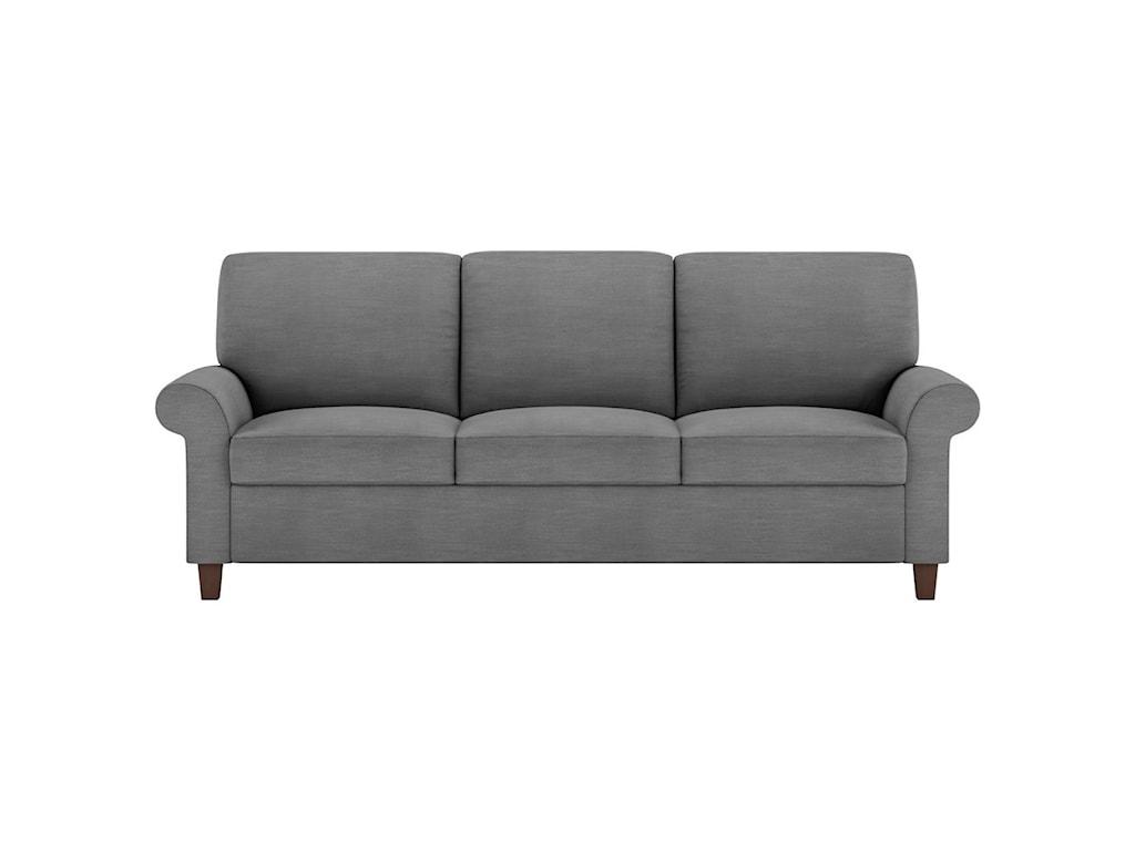 American Leather GibbsKing Sleeper Sofa
