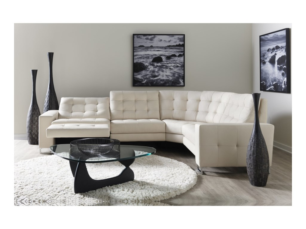 American Leather HudsonPower Reclining Sectional