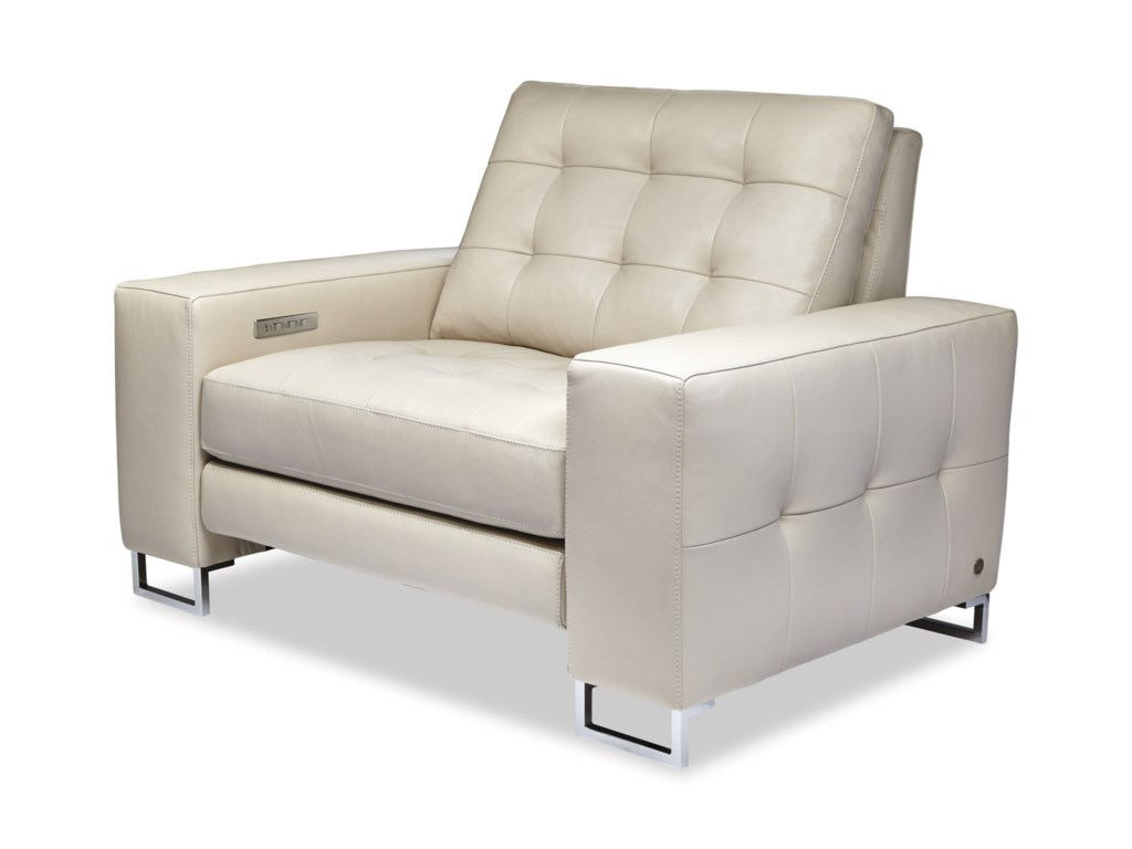 American Leather HudsonPower Reclining Chair and a Half