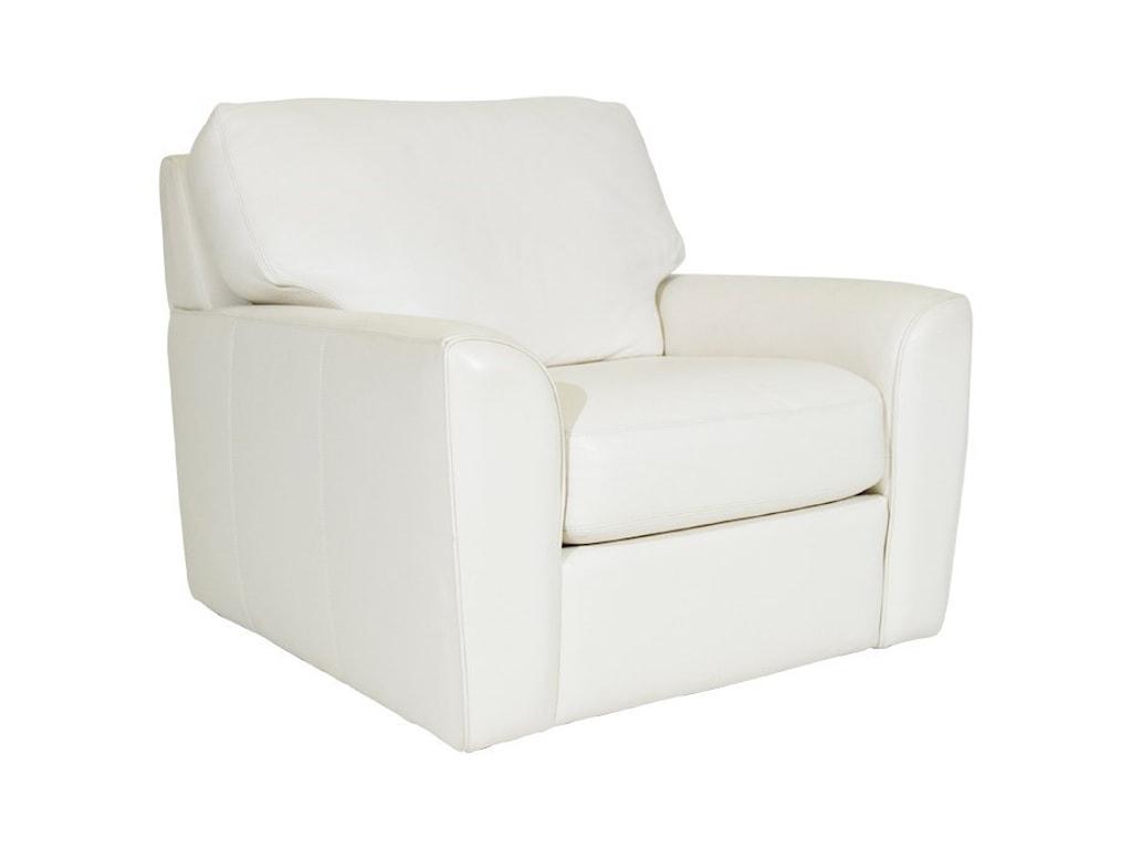 American Leather KadenSwivel Chair
