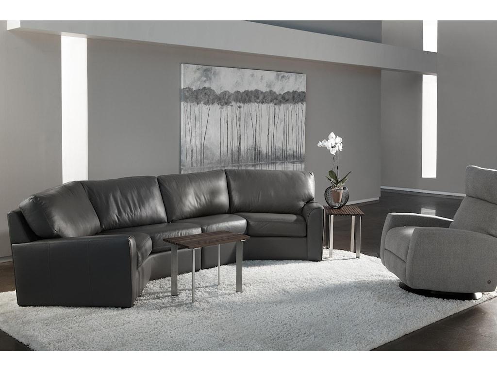 American Leather KadenSectional Sofa
