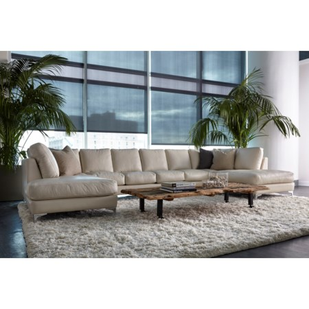 6-Seat U-Shape Sectional