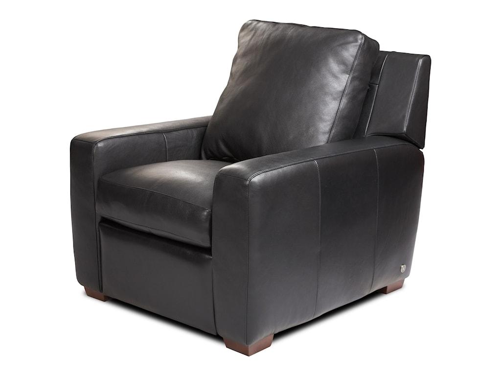 American Leather LisbenHigh Leg Recliner