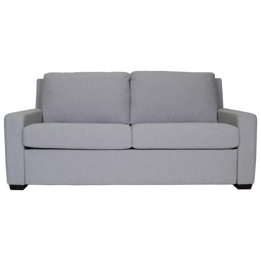American Leather Lyons Two Seat Queen Size Comfort Sleeper