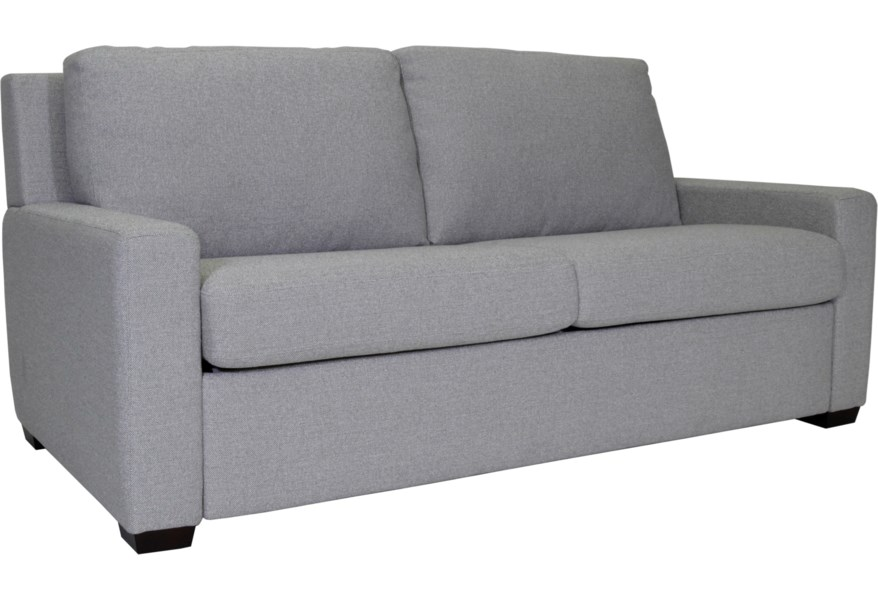 Lyons Two Seat Queen Size Comfort Sleeper by American Leather at  Jacksonville Furniture Mart