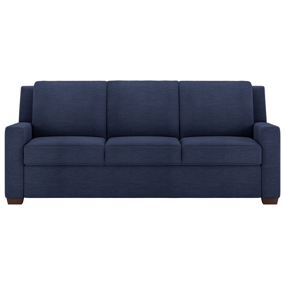 american leather lyons three seat queen size comfort sleeper rh saugertiesfurniture com World's Most Comfortable Sleeper Sofa Bassett Sleeper Sofa