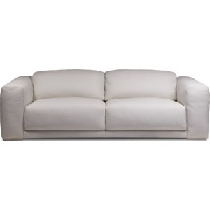 American Leather Malibu Contemporary 2-Seat Sofa with Wide ...