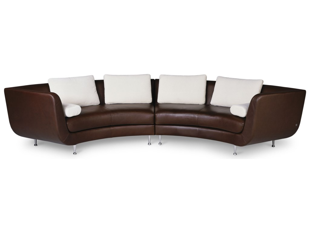 American Leather Menlo Park4-Seat Sectional Sofa