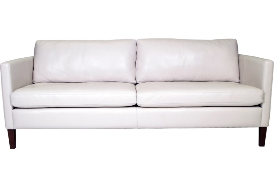 American Leather Milo Modern 2-Seater Sofa with Customizable ...