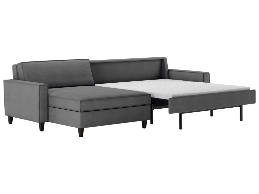 American Leather Mitchell2 Pc Sectional Sofa