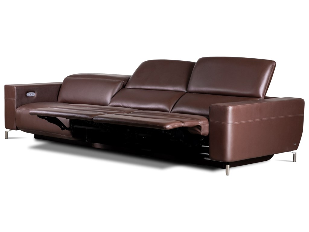 American Leather Monza3-Seat Reclining Sofa