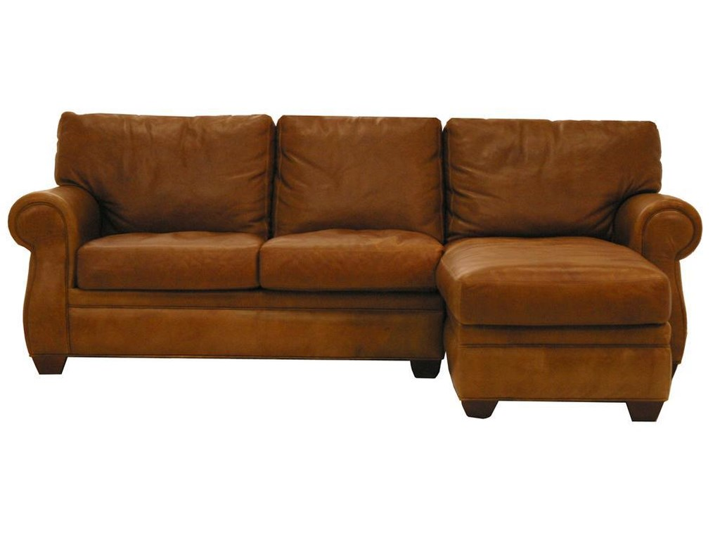 American Leather MorganTraditional 2 Piece Sectional Sofa