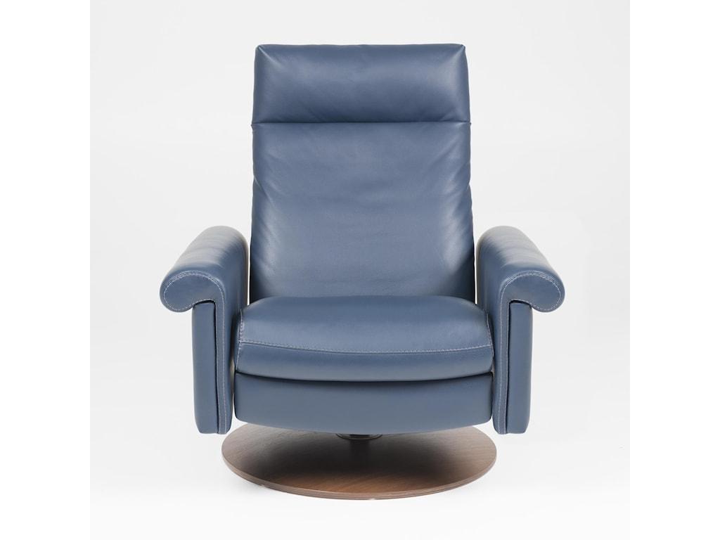 American Leather NimbusSwivel Glider Reclining Chair - XL Size