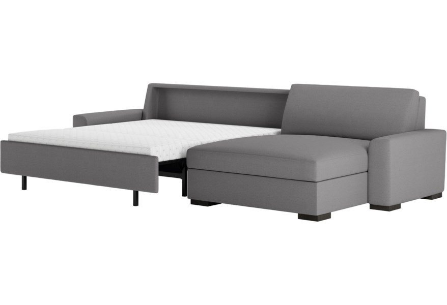 Leather Olson Two Piece Sectional Sofa