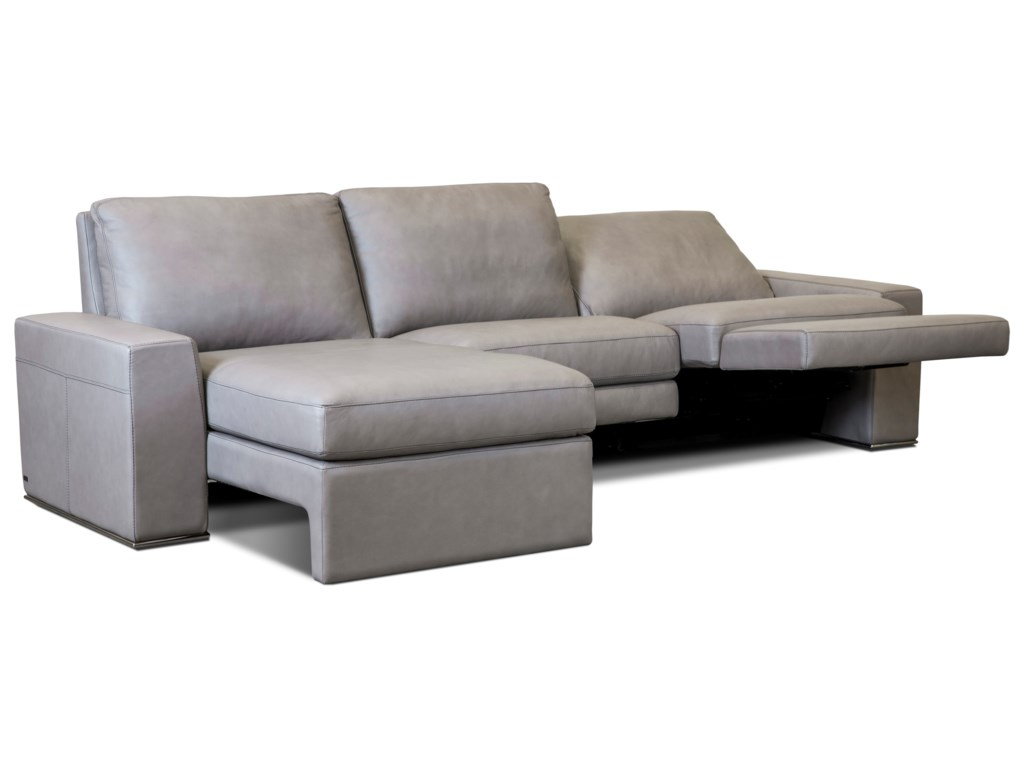 American Leather PaxtonReclining Sectional Sofa w/ LAF Chaise