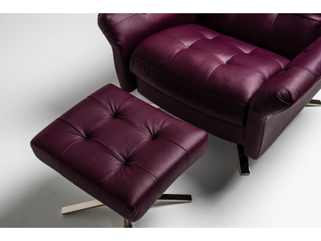American Leather PileusSwivel Glider Recliner - Extra Large