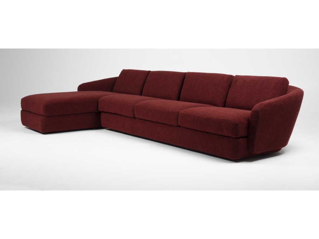 American Leather Sadona4-Seat Sofa with Chaise