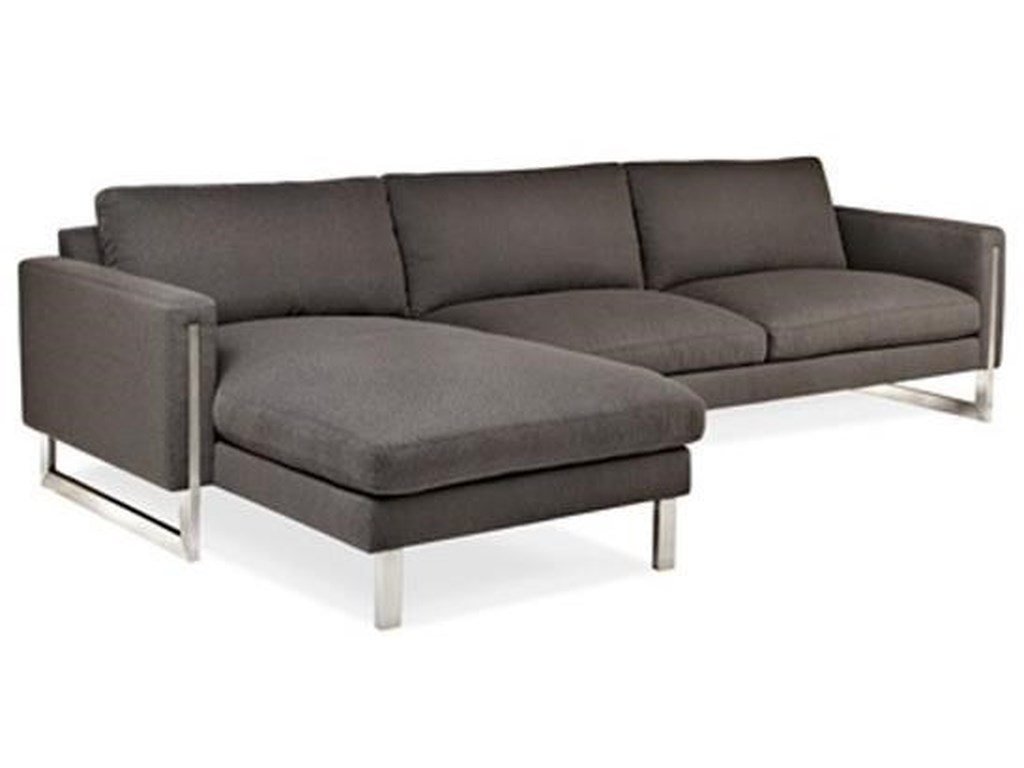 American Leather SavinoChaise Sofa