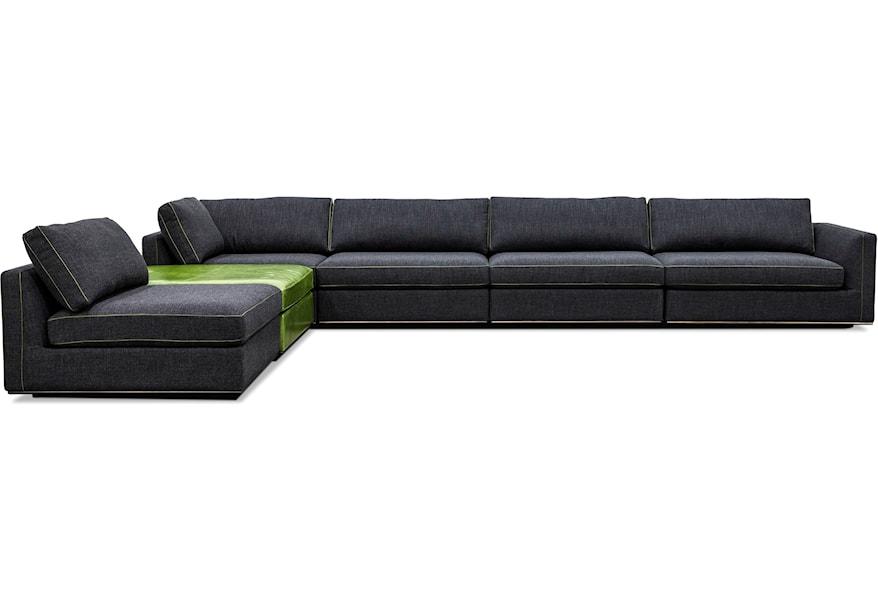 Seat Sectional Sofa