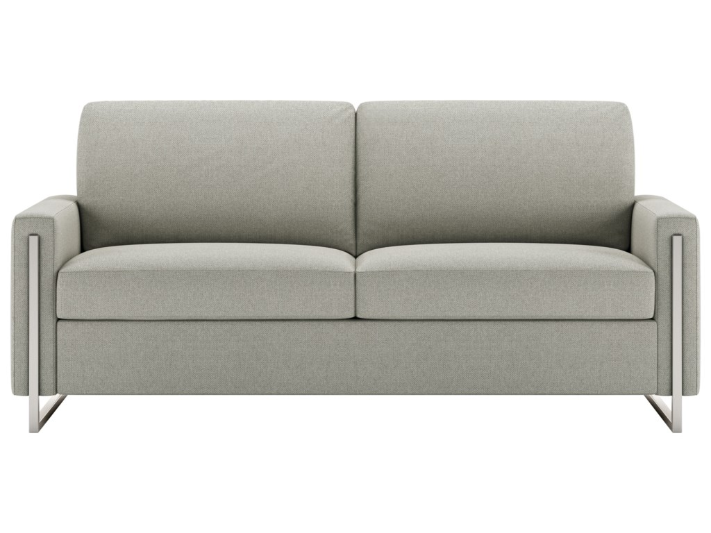 American Leather Sulley Contemporary Queen Sofa Sleeper ...